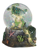 View Sea Turtle Snow Globe
