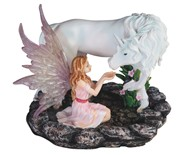 View Pink Fairy with Unicorn