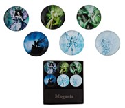 View Magnets-Fairy Round 6pc Set