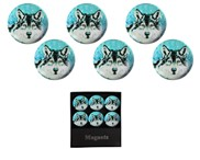 View Magnets-Wolf 6pc Set