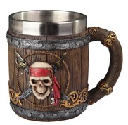 View Skull/Pirate Mug