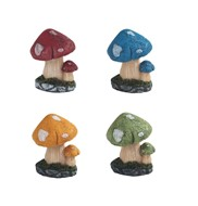 View Decorative Mushroom 4pc Set