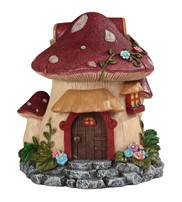 View Mushroom Cottage Trinket Box