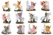View Miniature Fairy with Unicorn Set