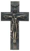 "View 15 1/2"" Bronze Crucifixion"