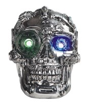 View Steampunk Skull with LED
