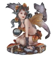 View Autumn Fairy with Crystal