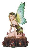 View Earth Fairy on TreeTrunk