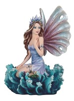 View Water Fairy on Ocean Wave