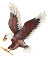 "View 18"" Eagle Wall Plaque"