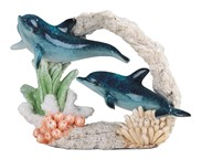 "View 7 1/4"" Dolphin Couple"