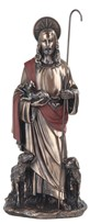 "View 12"" Bronze Good Shepherd---"