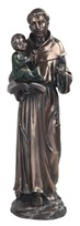 "View 12"" Bronze St. Anthony---"