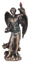 "View 12"" Bronze Archangel Uriel---"