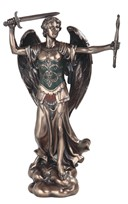 "View 12"" Bronze Archangel Michael---"