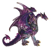 View 3-Head Purple Dragon