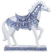 View Blue and White Mustang Horse