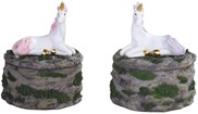 View Unicorn Trinket Box 2 pc Set