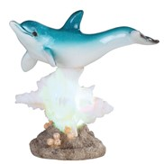 View Dolphin on Coral with LED