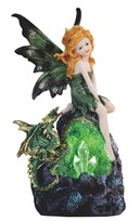 View Fairy & Dragon with LED Crystalstone