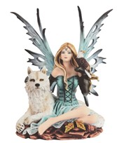 View Fairy with Wolf