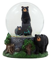 View Bear Snow Globe