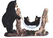 View Bear Family with Hammock