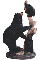 View Bear with Cubs on Tree