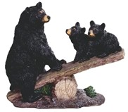 View Bear with Cubs on See Saw