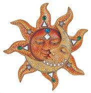 "View 16"" Mosaic Sun and Moon"