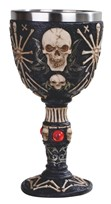 View Skull Goblet with Gems