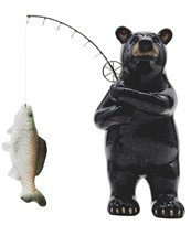 View Bear with Fish Rod