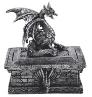 View Dragon Trinket Box-Rectangular