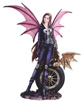 View Bat Fairy with Wheel
