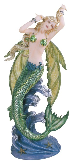 Green Mermaid Fairy Gsc Imports