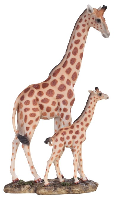 11 3 4 Quot Giraffe With Cub Gsc Imports